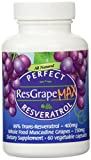 Perfect ResGrape Max 99 Trans-Resveratrol amp Muscadine Grape Anti-Aging Supplement amp Potent Antioxidant 60 Vegetable Capsules Discount