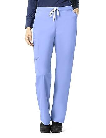 f3e0e92e60b Carhartt Size Rockwall Women's Plus Cargo Scrub Pant, Ceil Blue 2X-Large