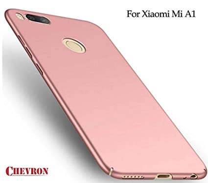 super popular 39401 244b7 Chevron Back Cover for Xiaomi Mi A1 Android One by Chevron - Rose Gold