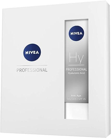 NIVEA PROFESSIONAL Ácido hialurónico, kit de regalo, set de cremas antiedad con crema de día con