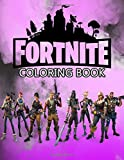 Fortnite Coloring Book: 50+ Coloring Pages for Kids and Adults Amazing Drawings: Characters , Weapons & Other (Unoffical)