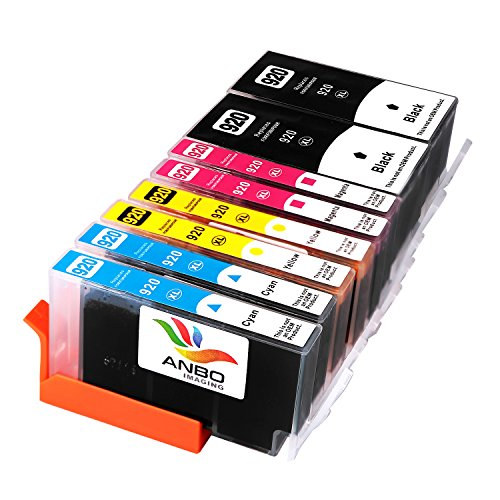 Anbo 2 Sets Replacement HP920 ink Cartridge High - Print Head For Hp Office Jet 6500