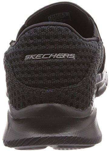 Nero Mocassini Slickster Skechers Black Uomo Equalizer 6HgqBHxSwI