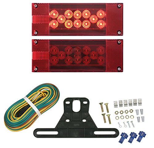- Optronics TLL16RK Red LED Combination Tail Light Kit