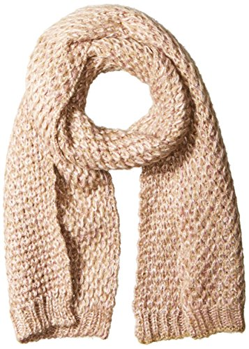 Jessica Simpson Scarf - Jessica Simpson Women's Lurex Blend Textured Knit Scarf, Rose Water, One Size