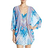 In Bloom by Jonquil Women's Purple Haze Wrapper, Deep Turquoise, Medium