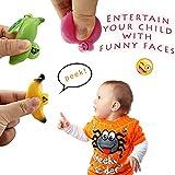 Keychain Fidget Toys 3 Fidget Pack Funny Facial