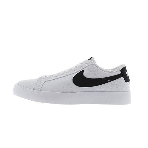 best loved 8c20c ccfde Nike Mens SB Blazer Vapor TXT Skate Shoe (White Black, 12)