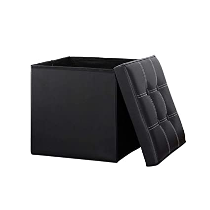 Phenomenal Amazon Com Zkkz Chairs Foot Stool Folding Storage Ottoman Creativecarmelina Interior Chair Design Creativecarmelinacom