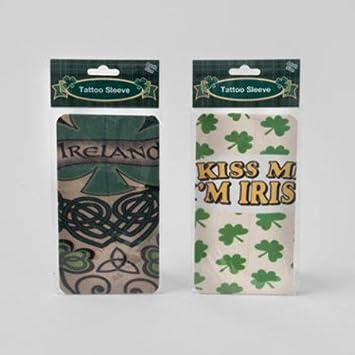 Amazon Com Ddi St Patrick S Day Assorted Tattoo Sleeves