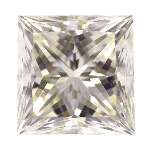 0.73 CT Loose Natural Diamond M VVS2 Princess Brilliant Cut GIA Certified MAX FIRE