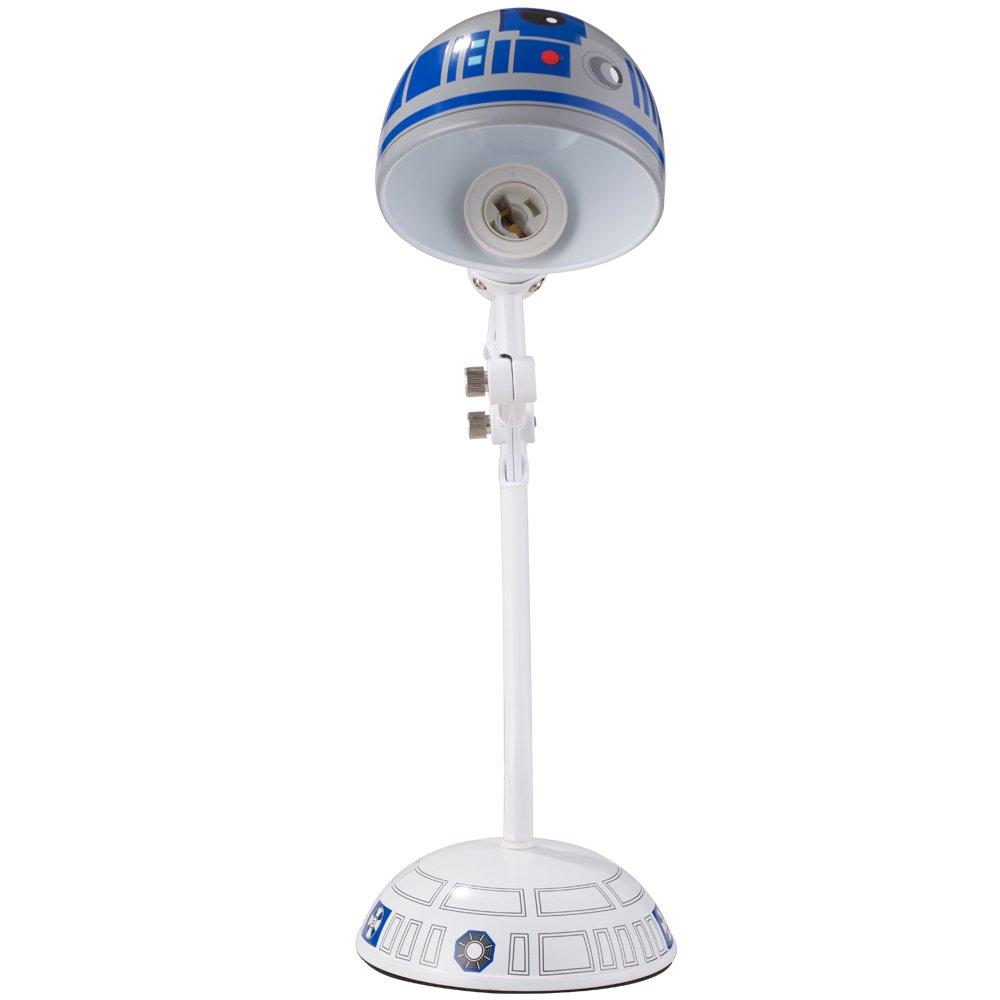 Disney Star Wars Desk Lamp, White/Blue, 17'' by Disney (Image #4)