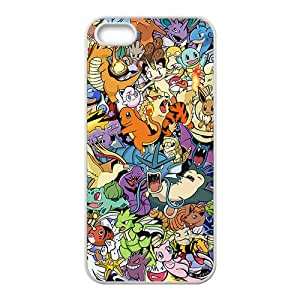 Malcolm Lovely Pokemon Cell Phone Case for Iphone 5s