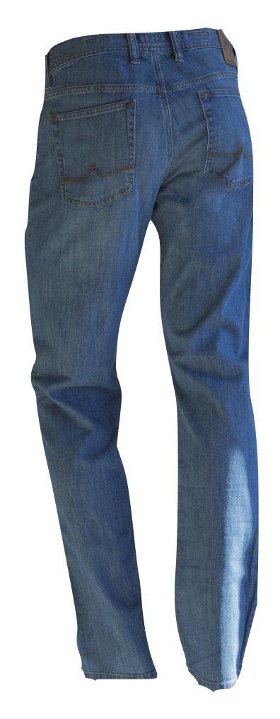 ALBERTO Men's Jeans - 1774 Stone Modern Fit - Blue (820) (32x34) by Alberto