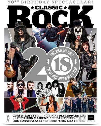 Classic Rock Magazine Issue 257 (January, 2019) 20th Birthday Special 2018 The Ultimate Review of the Year ()
