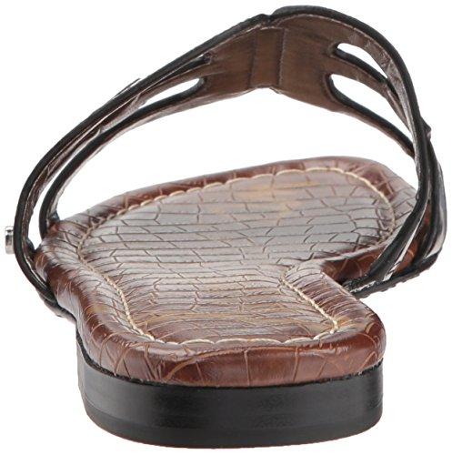 Sam Noir Edelman Chaussures Verni Slide Femmes 6rSqg6B