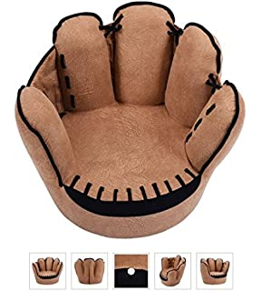 Tv Chairs For Kids Baseball Glove Sofa Armrest Couch Children Living Room Bedroom Boys Furniture Reading