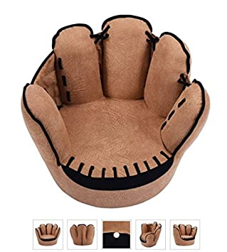 Elegant Tv Chairs For Kids Baseball Glove Sofa Armrest Couch Children Living Room  Bedroom Boys Furniture Reading