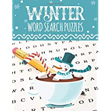 Winter Word Search Puzzles: Large Print Word Search Puzzles for Adults & Kids
