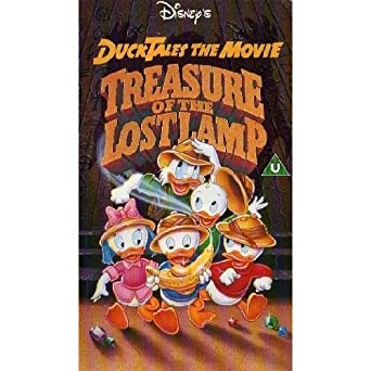 Ducktales The Movie Treasure Of The Lost Lamp Vhs Bob