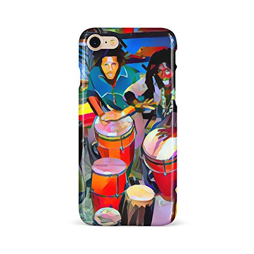 Westlake Art - Phone Case Cover - Reggae Music - Snap On Slim Fit Protector Modern Abstract Artwork Birthday Gift - iPhone 7 / 8 ( 18d67 d1c57) (Head Plastic Timbale)