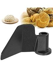 Zwarte kneedhaak, roestvrij staal, broodbakmachine, kneedhaak voor het maken van brood en gebak, universeel reserveonderdeel voor broodbakmachine
