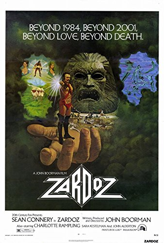 27 x 40 Zardoz Movie Poster for sale  Delivered anywhere in USA