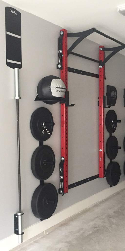 PRx Performace Exercise Ball Target, Wall Ball Target, Powder Coated Black, American Made, Wall Protection by PRx Performance (Image #1)