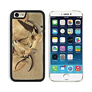 Goat Cuddle Zoo Animals Wildlife Park 3DCom iPhone 6 Cover Premium Aluminium Design TPU Case Open Ports Customized Made to Order by lolosakes