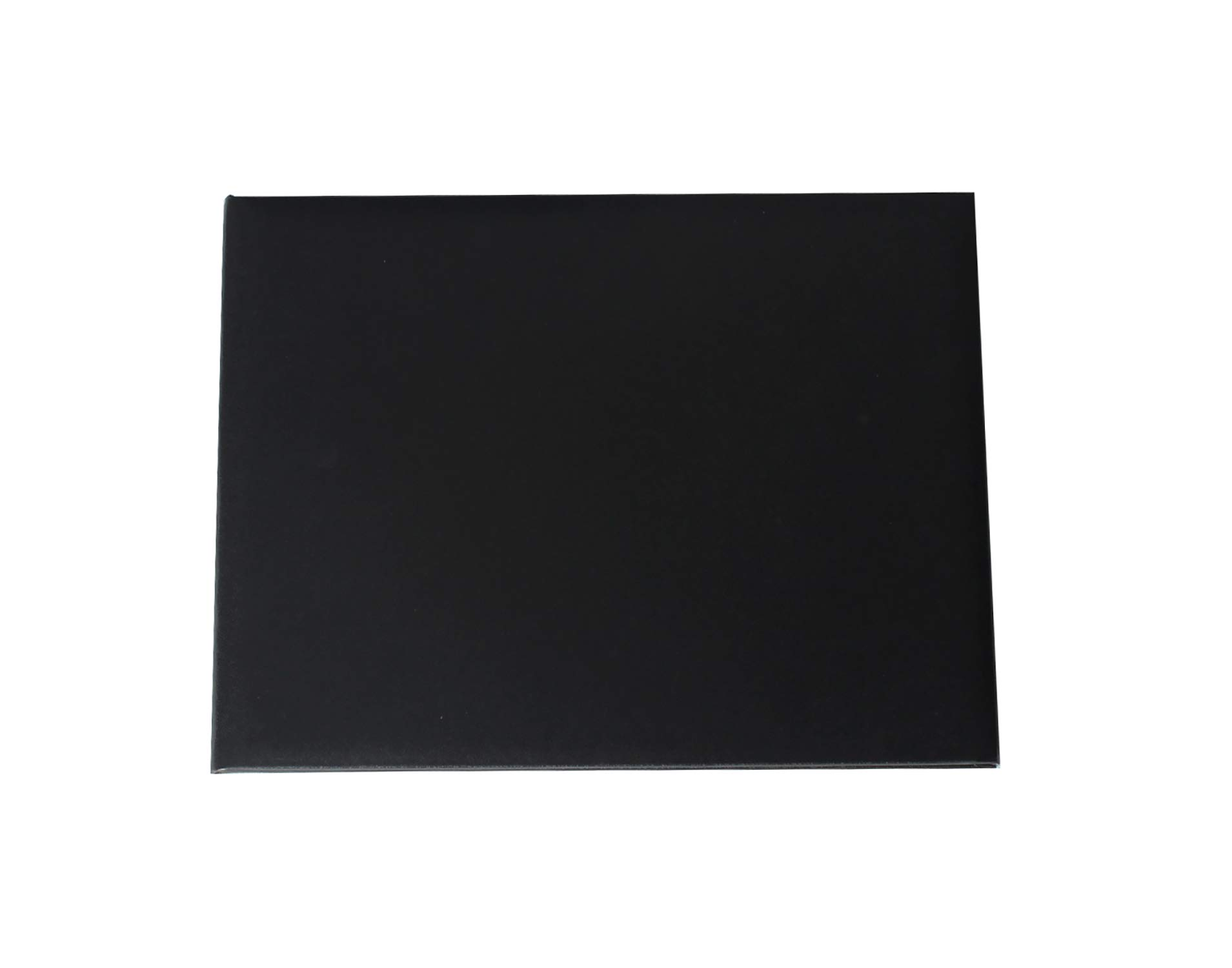 GraduationService Smooth Diploma Certificate Cover 8 1/2'' x 11'' (Black) by GraduationService (Image #2)