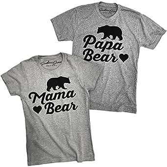 Amazon Com Southern Designs Papa Bear And Mama Bear