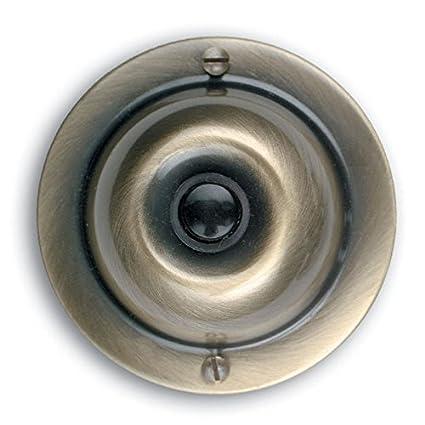 Utilitech Antique Brass Doorbell Button Item# 33383 Model#UT VSRA 00 UPC