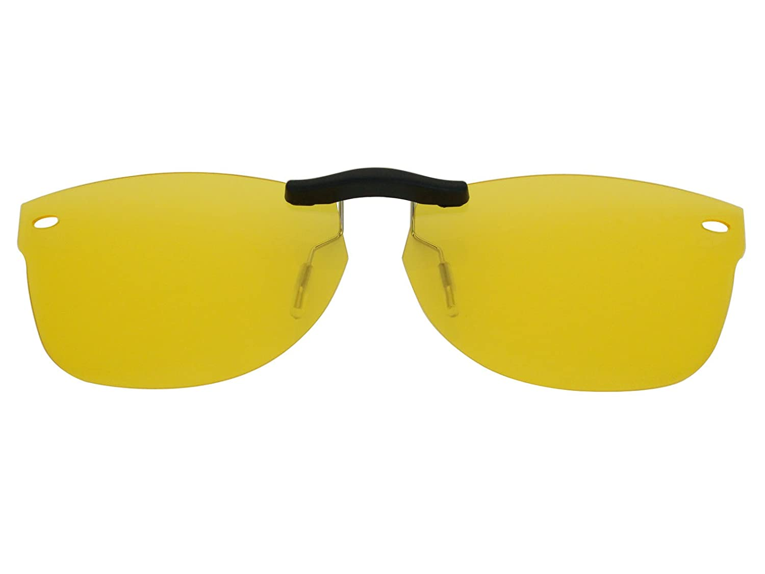 3233a819e5 Custom Fit Polarized CLIP-ON Sunglasses For Ray-Ban RB5184 50X18 HD Yellow  - - Amazon.com