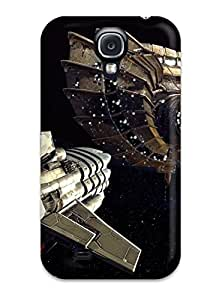 New Fashion Premium Tpu Case Cover For Galaxy S4 - Space Battle