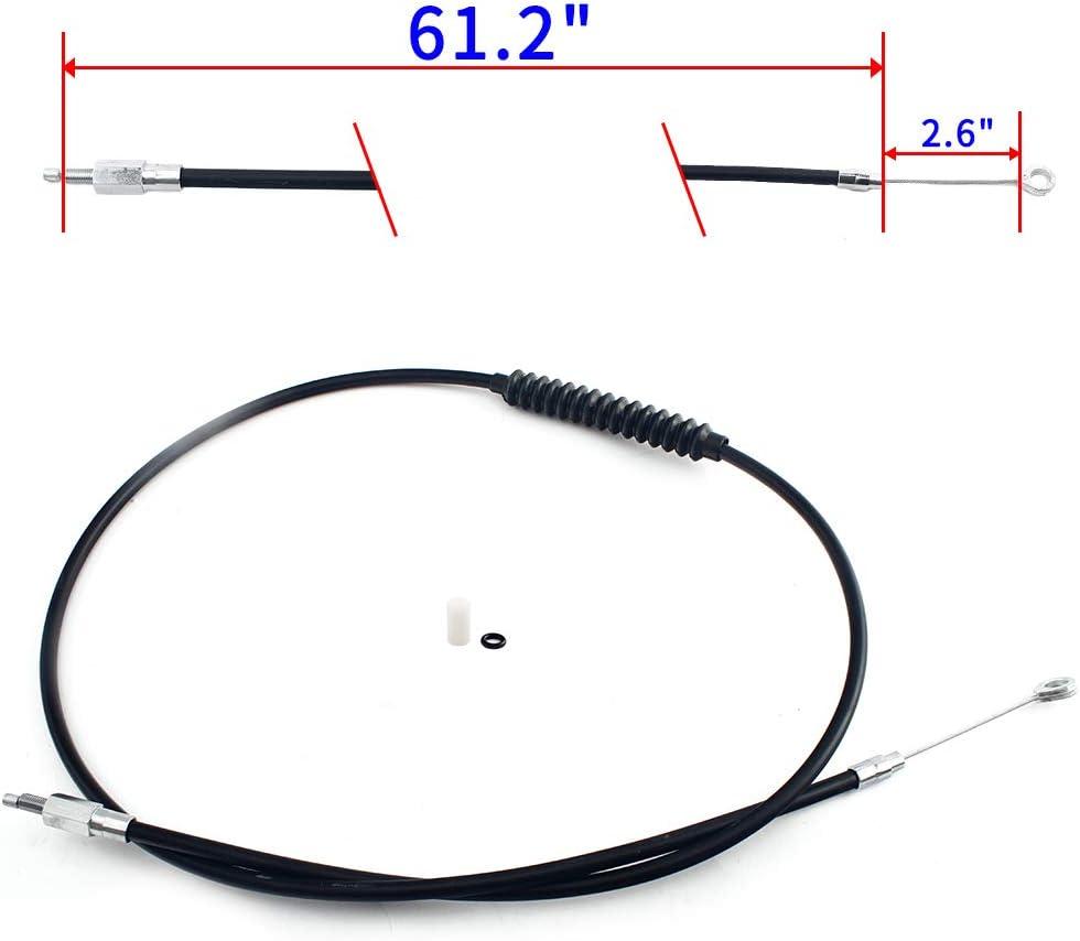 TARAZON Moto PVC Cavo Frizione per Sportster XLH1100 86 87 XLH883 Hugger Deluxe XLH1200 92-95