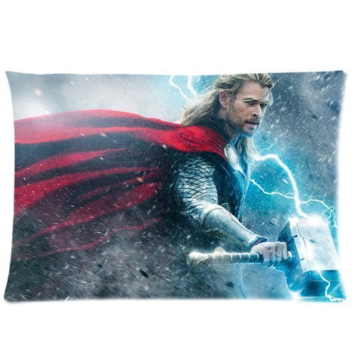 Custom New Avenger Thor Chris Hemsworth Pillowcase Standard Size 20*30Inch(Approximate 50*76 cm) Design Cotton Pillowcase (Chris Merchandise compare prices)