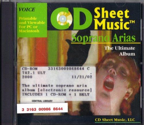 CD Sheet Music: Ultimate Soprano Aria Album ()
