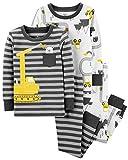 Carter's Toddler Boys 4 Pc Pajama PJs Sleep Play Sleep Snug fit Cotton Construction (3T)