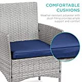Best Choice Products 3-Piece Outdoor Wicker