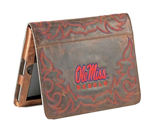 Gameday Boots NCAA Mississippi Old Miss Rebels Ms-IP018University of Mississippi iPad 2 Cover, Brass, One Size by Gameday Boots