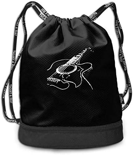 Mochila con cordón para Guitarra acústica para Hombres y Mujeres ...