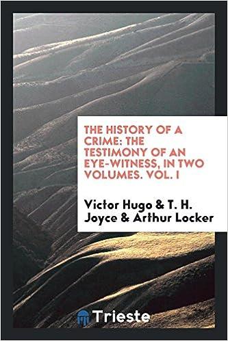 Descargar Torrent+ The History Of A Crime, Tr. By T.h. Joyce And A. Locker Epub Gratis Sin Registro