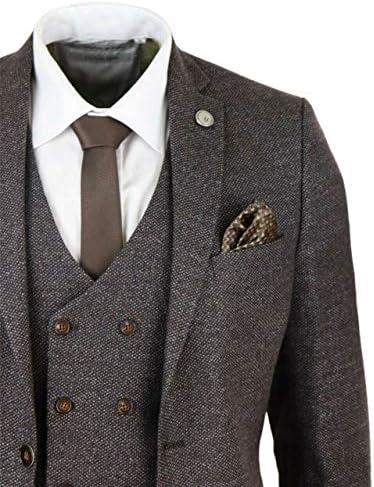 スリーピーススーツ メンズ 秋冬 結婚式 大きいサイズ フォーマル ビジネス カジュアル おしゃれ