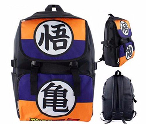 rare Schultertasche Tasche Shoulder Bag Rucksack reisetaschen Orange Lila Dragon Ball new