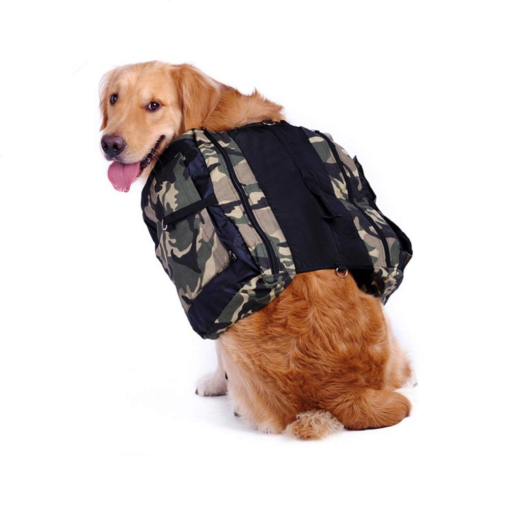 As-picture M As-picture M MISSKERVINFENDRIYUN Pets from Backpacks Dog Bags Medium and Large Dog Travel Bags Satchel Outing Portable Backpack (color, Size   M)