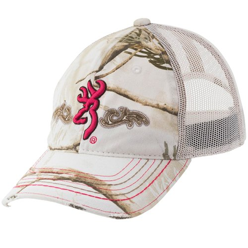 Browning 308185271 Flurry Mesh Cap for Her Realtree All Purpose Snow