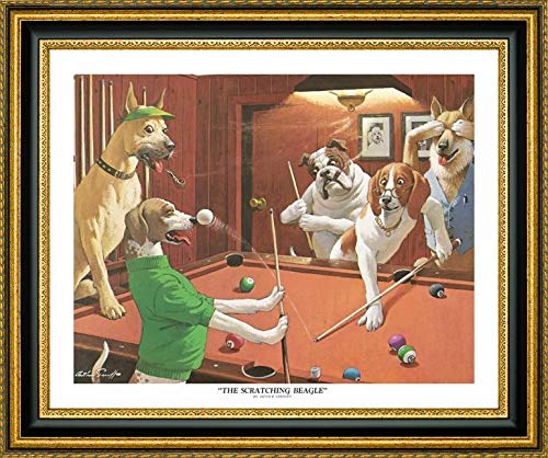 The Scratching Beagle by Arthur Sarnoff - 26.25