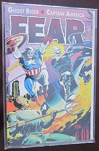 Ghost Rider / Captain America: FEAR by Howard Mackie (1992-05-03) ()