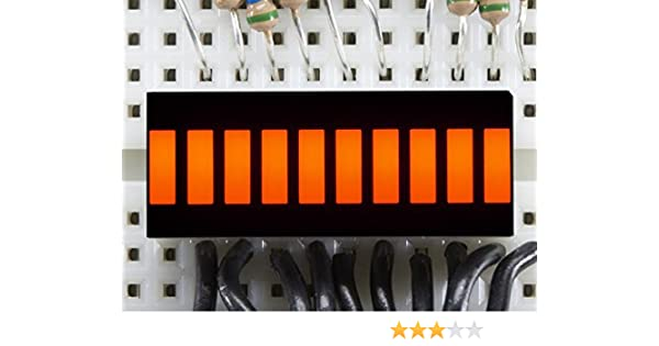Adafruit 10 Segment Light Bar Graph LED Display ADA1815 Blue
