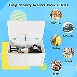 Costzon Wooden Kids Toy Storage Chest